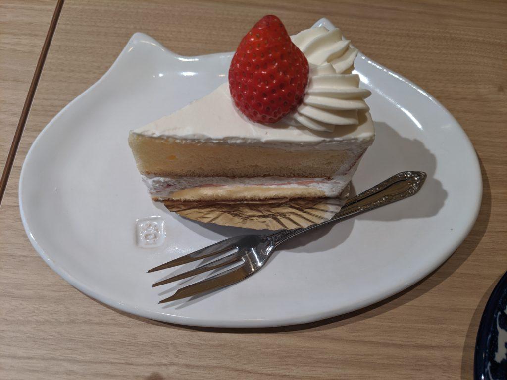 ザンパータのショートケーキ