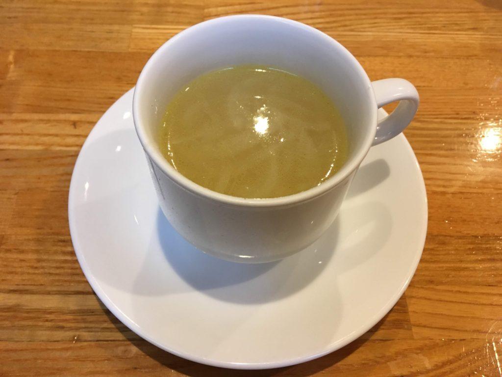 二子玉川リヴィエールのコンソメスープ