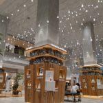 玉川高島屋本館のオープンスペース