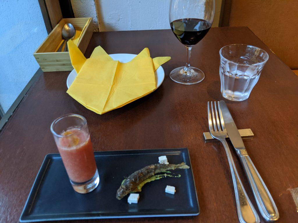 チーズのお店 バール ア フロマージュ スーヴォワルのお通し