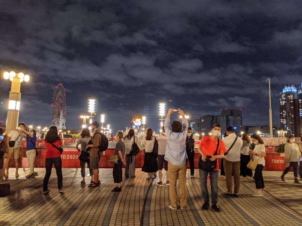 オリンピック東京2020聖火台