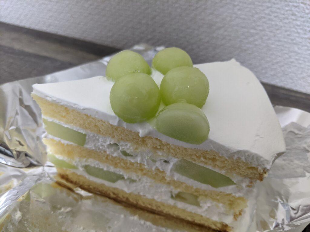 HARBSのメロンケーキ